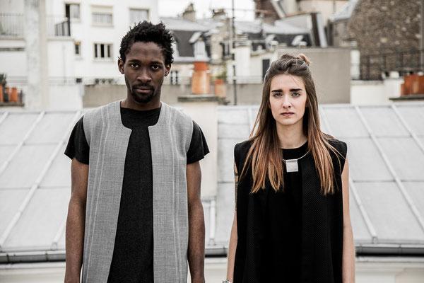"Fashionshooting // Label: ""Di La Tativ"" Models: Julia Zimmermann, Dorian Deutou // Ⓒ sarahstangefotografie"