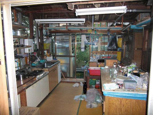 既存の台所