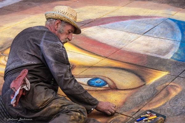 Helmut Beckmann - Straßenmaler