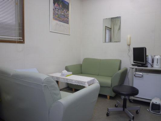 スタッフの休憩室です。