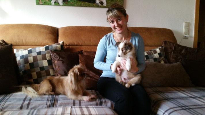 Oxana mit Anouk und Lilly