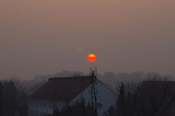 Sonne im Nebel - Hero Gastmann