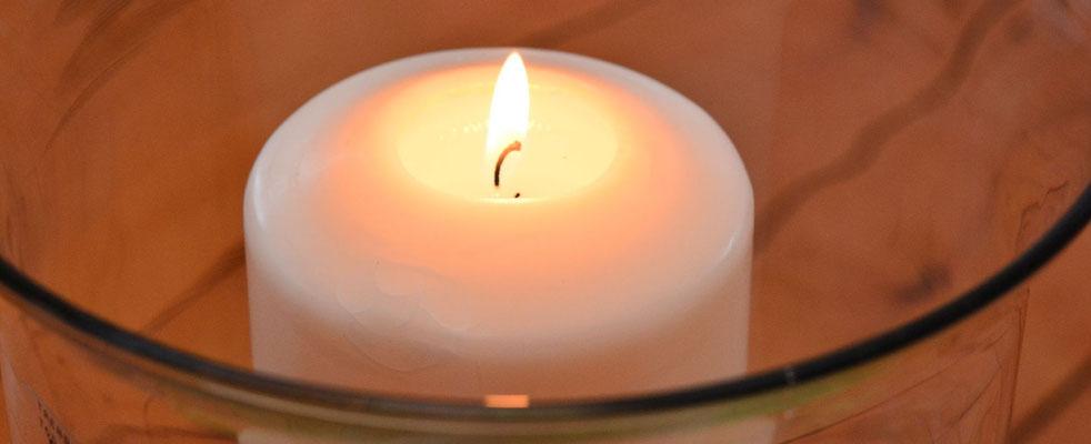Kerzenlicht bringt Stimmung