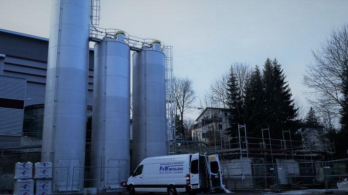 Siloanlage Unilever Auerbach