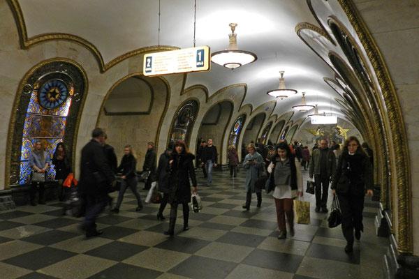"""""""Nowoslobodskaja"""" - eine der schönsten Stationen der Ringlinie"""