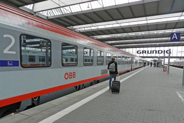 Евросити Мюнхен - Загреб.