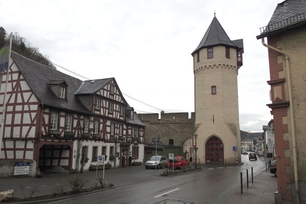 Башня городских стен