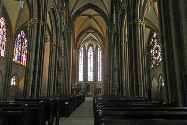 Внутри церкви после Реформации убрали большинство украшений