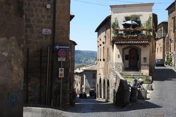 Orvieto ist ein Bilderbuchstädtchen