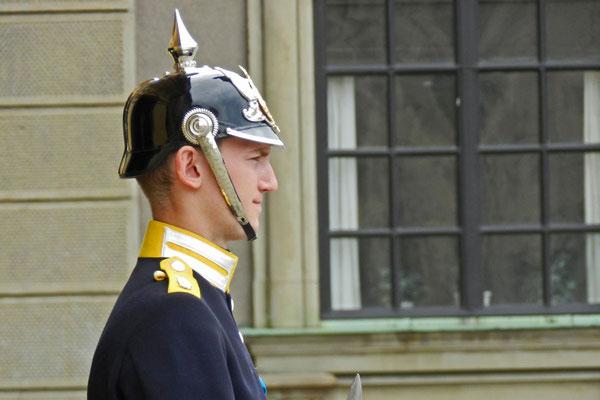 Королевская охрана в Стокгольме