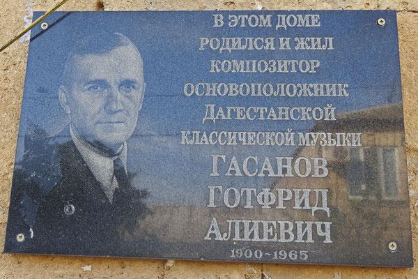 Gedenktafel für Gottfried Gassanow