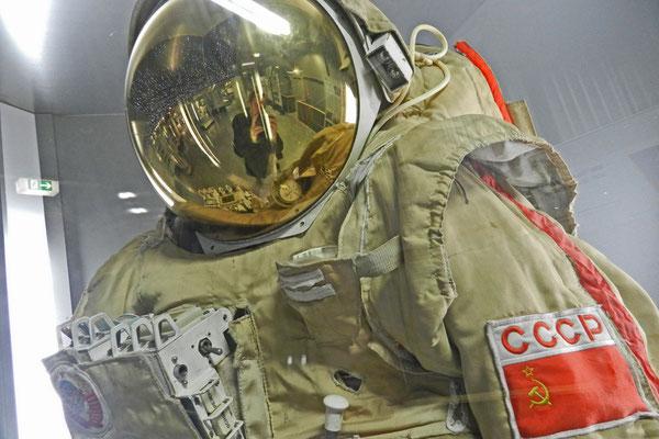 Советский скафандр в музее техники