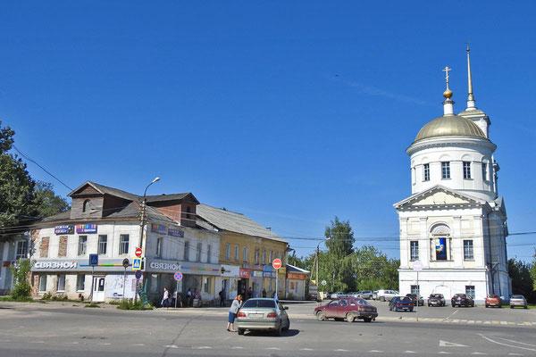Viele Häuser in Torschok sind dringend renovierungsbedürftig.