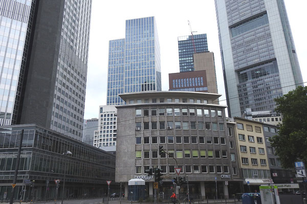 Местами Франкфурт похож на Чикаго.