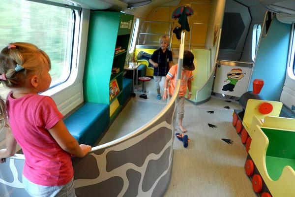 Finnische Züge sind ein Paradies für Kinder