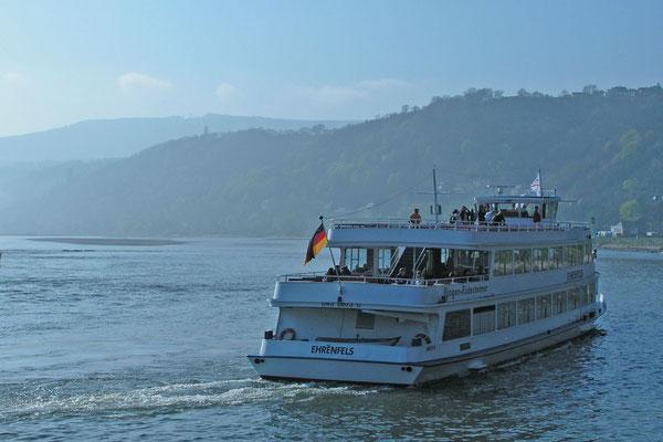 Корабль на Рейне