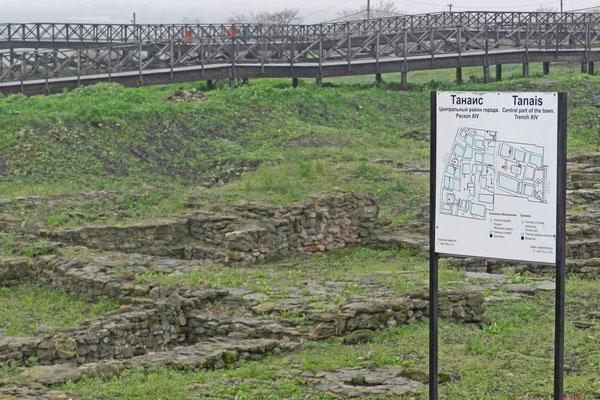 Tanais ist die wichtigste archäologische Stätte auf dem Gebiet Russlands.