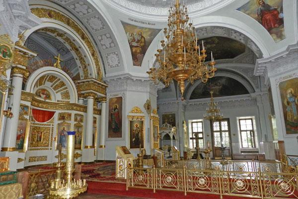 Im Inneren der Dreifaltigkeitskirche