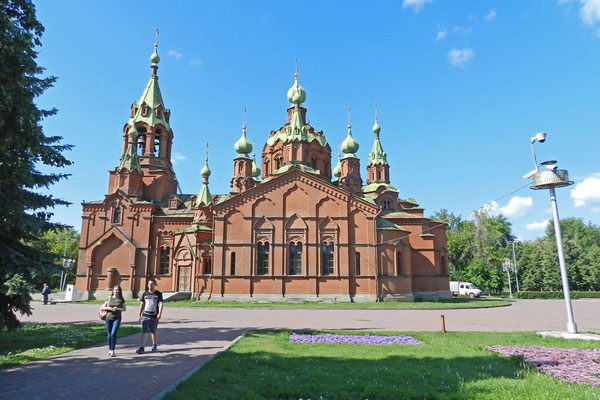 Alexander-Newski-Kirche in Tscheljabinsk