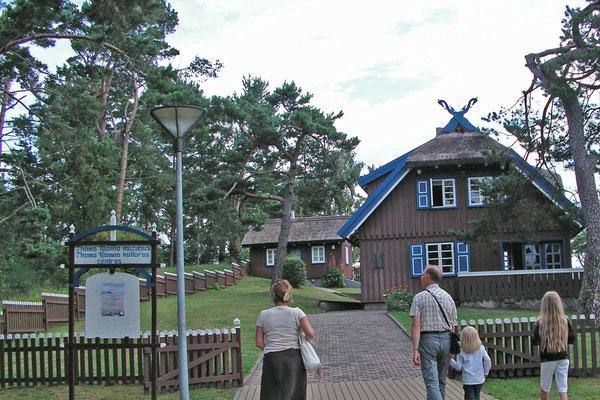 Thomas Mann verbrachte drei Sommer auf der Kurischen Nehrung bei Nidden.