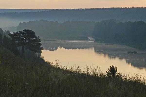 Sonnenaufgang im Ural