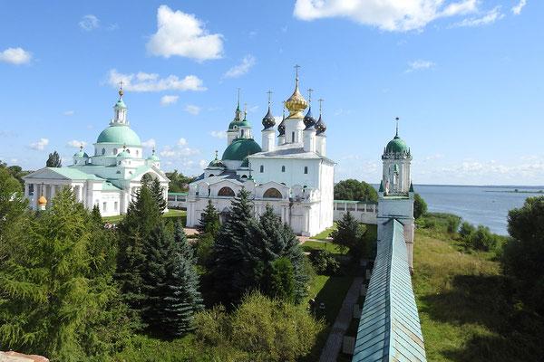 Blick von der Klostermauer
