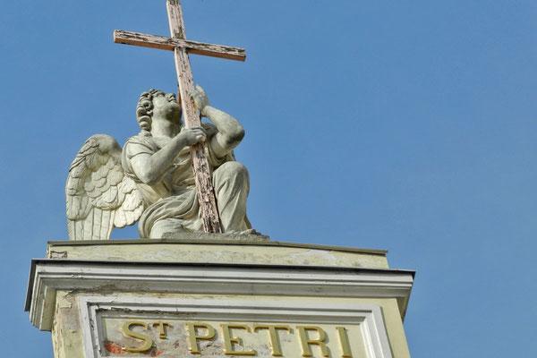 Die evangelische Kirche war zu Sowjetzeiten ein Schwimmbad