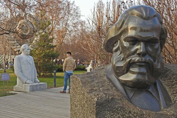 Karl Marx im Museon-Park