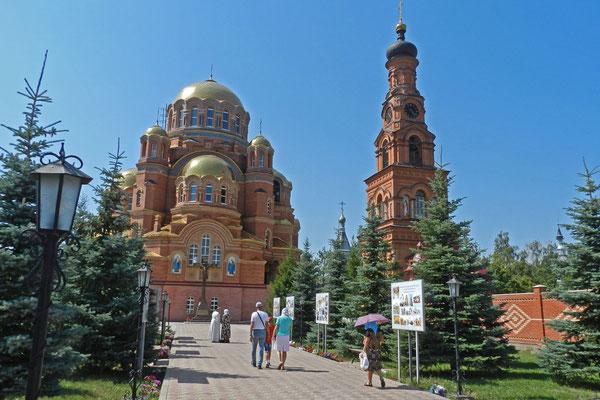 Das Kloster von Saraktasch entstand erst nach dem Ende der Sowjetzeit.