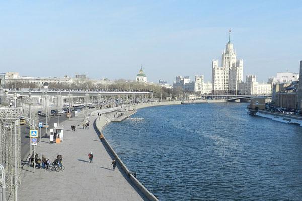 """Wo einst das Riesenhotel """"Rossija"""" stand, ist jetzt ein Park"""