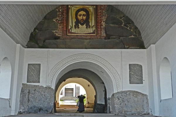 Haupttor des Solowezki-Klosters