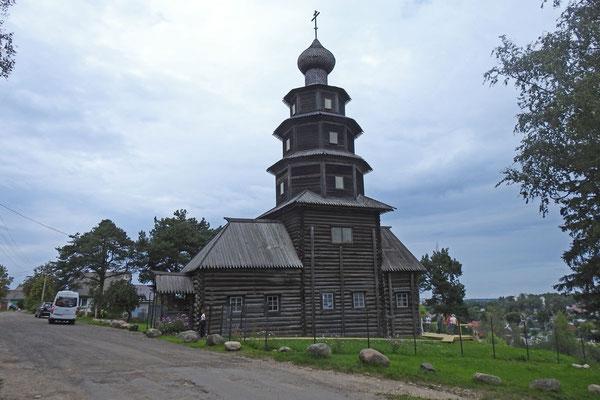 Holzkirche am Stadtrand von Torschok