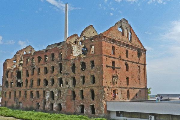 Die Ruine der Gerhardt-Mühle
