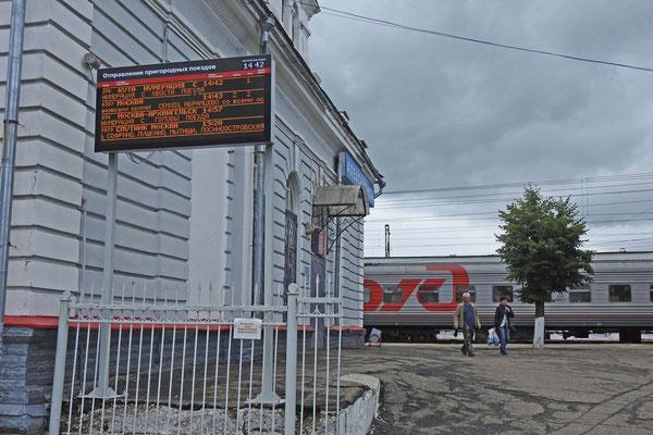 Am Bahnhof von Alexandrow