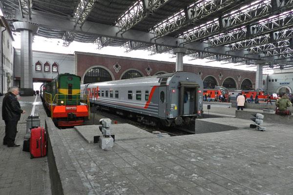Bahnhofshalle des Kasanski Woksal in Moskau