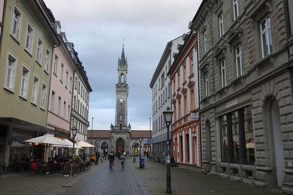 Вокзал Констанца раньше имел немецкую и швейцарскую половину