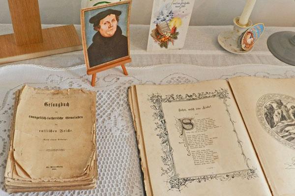 """Das """"Gesangbuch der evangelisch-lutherischen Gemeinden im Russischen Reiche"""""""