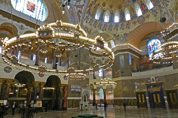 Die Kathedrale von Kronstadt wurde in den Jahren nach 2005 aufwendig restauriert.