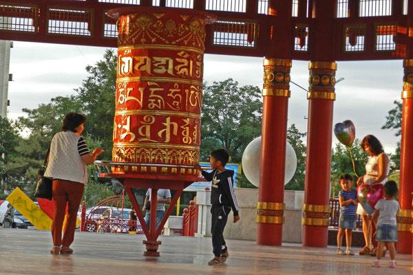 Kalmückien ist die einzige traditionell buddhistische Region Europas.