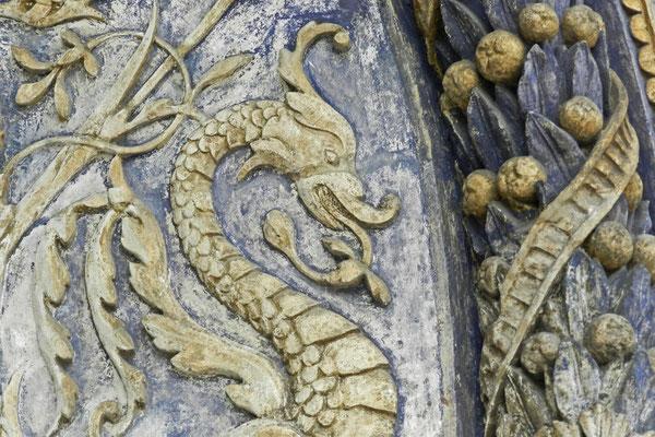 Detail am Eingang zur Erzengel-Michael-Kathedrale
