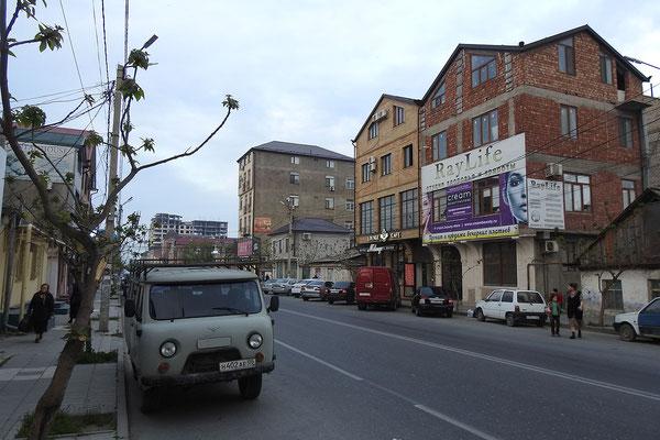 Hauptstraße im Zentrum