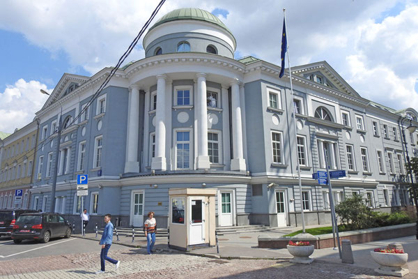 Die EU-Botschaft in Moskau
