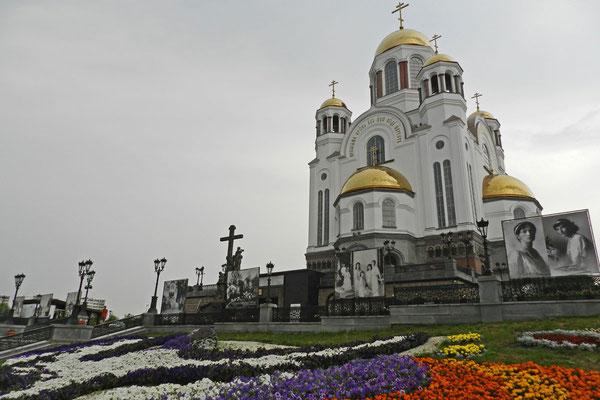 Die Blutkirche von Jekaterinburg wurde 2003 eingeweiht.