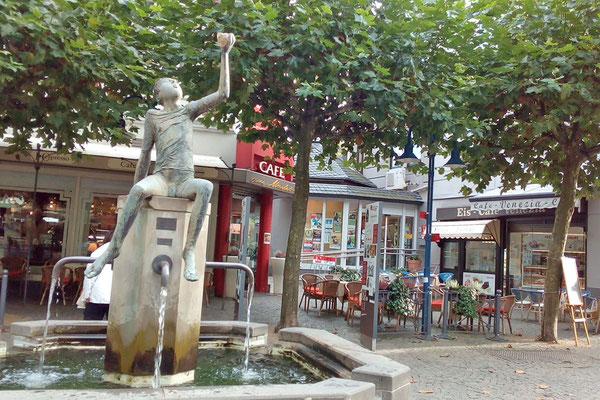 Рыночная площадь в Оберштайне