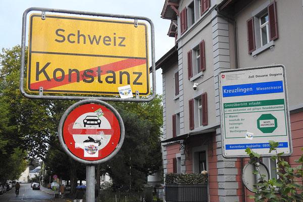 Граница с Швейцарией