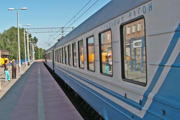 Leider Geschichte: Der Nachtzug Berlin-Kaliningrad