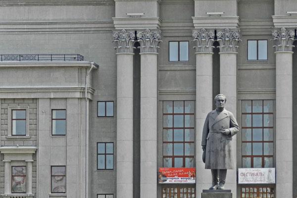 Kuibyschew-Denkmal am größten Platz Europas