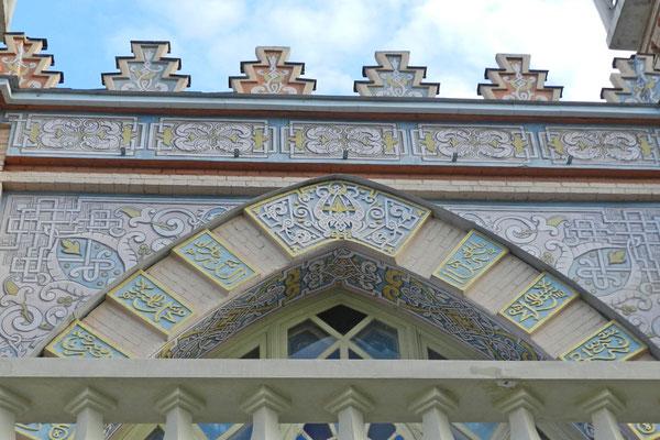 Verzierungen an der Moschee von Wladikawkas