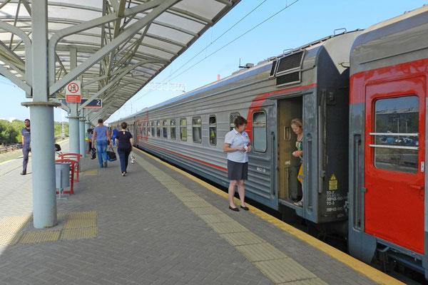 Schnellzug Nr. 90 Moskau-Petropawlowsk