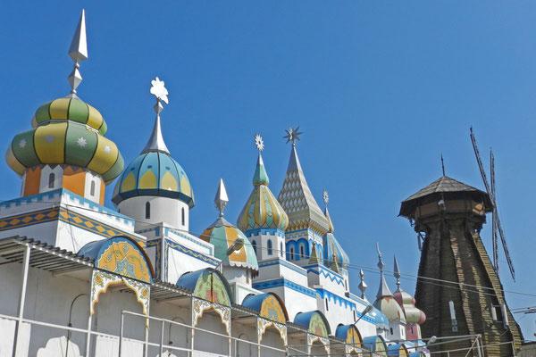 Märchen-Russland stand Pate beim Bau des Areals.
